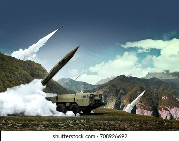 Nuclear warheads ready to fire from scud