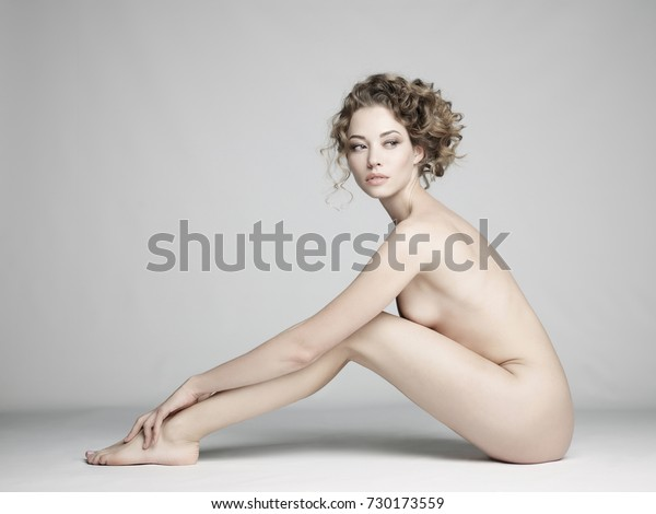 Erotic young nude woman