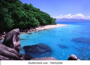 Nudey Beach on Fitzroy Island Queensland Australia