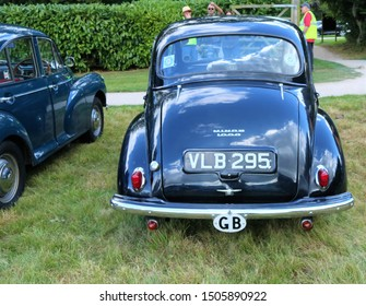 Nuffield, Oxfordshire, UK 01.09.2019 - Morris Minor Car Show - Beautiful classic and vintage cars.  Morris Minor.