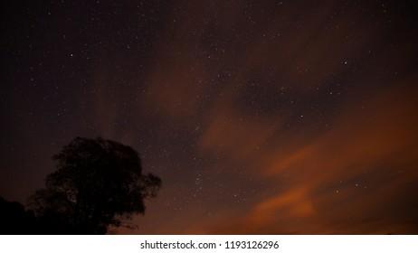 Nuit d'Aubrac automne