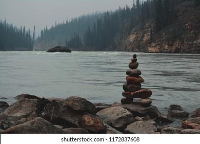 Nuk Shuk on the riverside