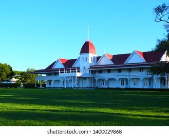 Nukualofa / Tonga - 31st March 2014: Royal Palace of The Kingdom of Tonga
