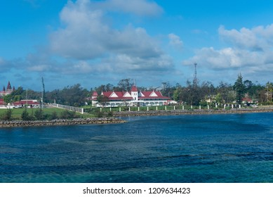 Nuku'alofa, Tonga--March 10, 2018. The Presidential Palace in Tonga, also known as the Royal Palace.