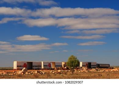Australian Outback Train Images, Stock Photos & Vectors