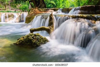 Num Tok Chet Sao Noi Waterfall National Park, Saraburi, Thailand