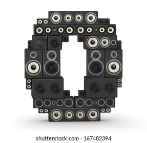 Number 0 from black woods hi-fi speakers sound systems