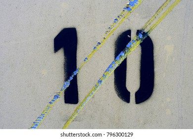 number 10, ten