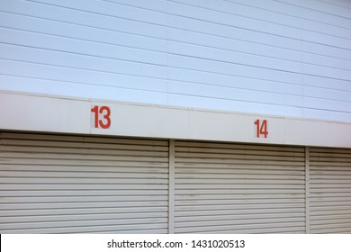 Number 13 and 14 warehouses