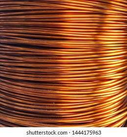 Number 14 American Standard Wire Gauge or 14 AWG Enamel copper wire roll industrial use for transformers coils inductors motors and dynamos.