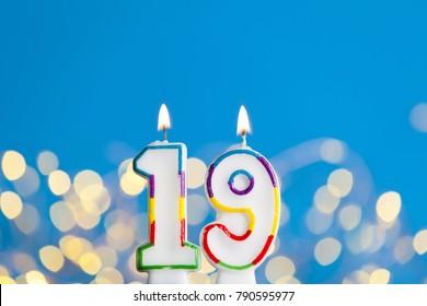 Blue Number 19