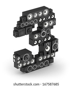 Number 3 from black woods hi-fi speakers sound systems in isometry