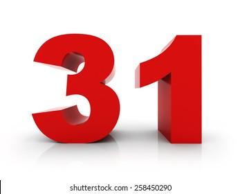 number 31