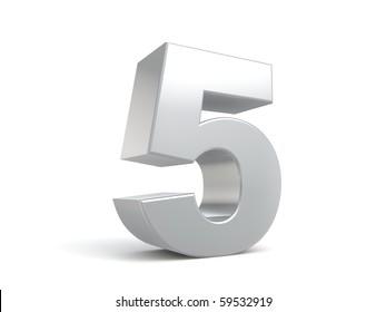 number 5 in metal