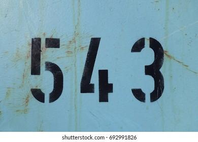 number 543