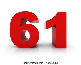 number 61