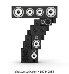 Number 7 from black woods hi-fi speakers sound systems
