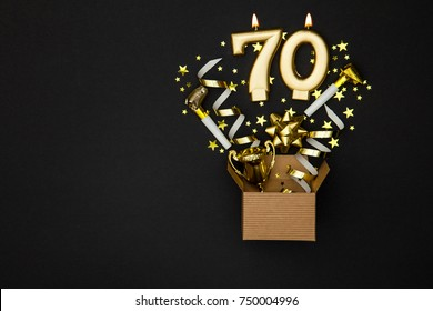 70th Birthday Invitation Images Stock Photos Vectors