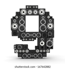 Number 9 from black woods hi-fi speakers sound systems