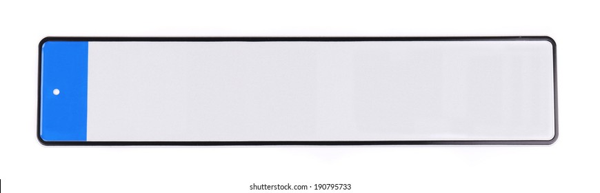 Number of car. Isolated on the white background.
