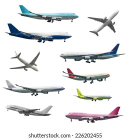 Number of different kind of aircrafts