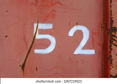 number fifty-two, 52