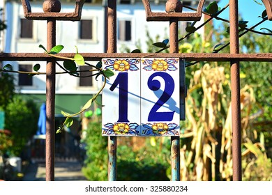 The number of the house