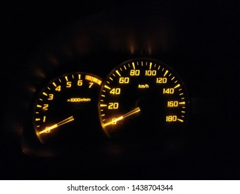 the number on the speedometer is a sign of how fast the motor vehicle is