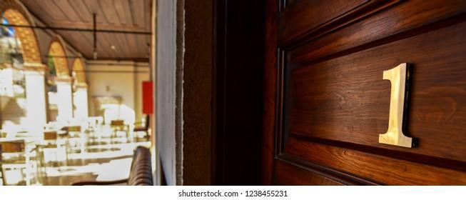 number one door