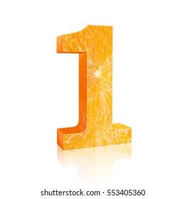number one Fresh orange