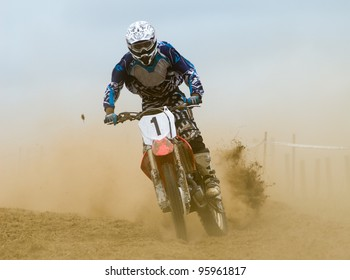 number one at motocross competition