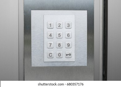number pad on door , number keypad on door