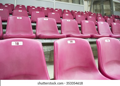 A number of seats on the rostrum