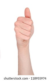 Number ten in sign language