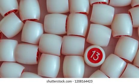 number thirteen, lotto, misfortune, bingo