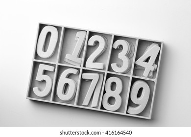 number for wallpaper and calendar