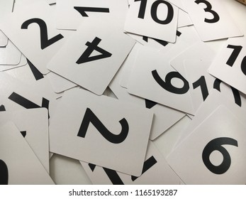 Numbers Flashcards Teaching Material