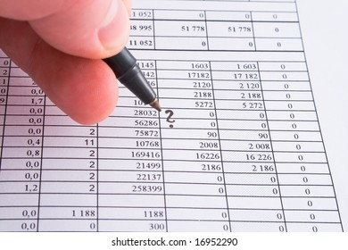 numerals and finance 1
