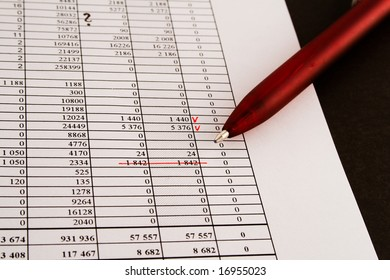 numerals and finance