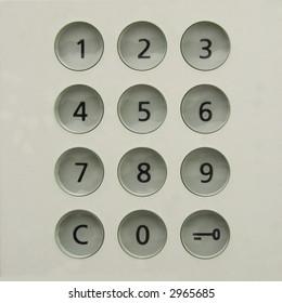 numerical code lock