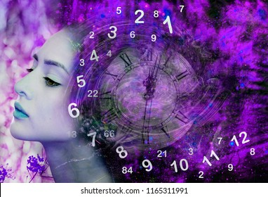 Numerology in space thoughts