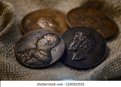 Numismatic stuff shoot