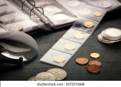 numismatics, collect old coins