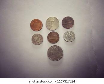 Numismatics collection/USA coins