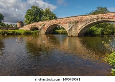 Nungate bridge in Haddington, East Lothian, Scotland.
