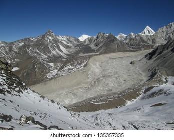 Nuptse Glacier