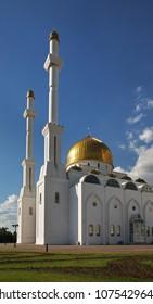 Nur Astana Mosque in Astana. Kazakhstan