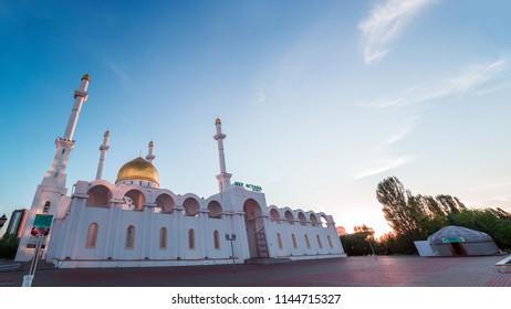 """Nur Astana"" (Nur - shine/light) Mosque in Astana, Kazakhstan"