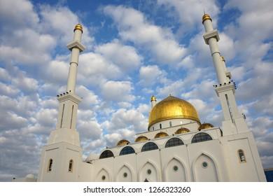 Nur Sultan Mosque, Astana, Kazakhstan
