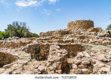 Nuraghe la Prisgiona archeological site, Sardinia, Italy